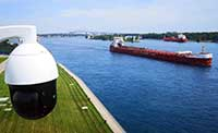 Boat passing webcam